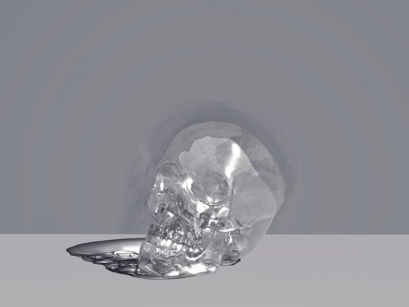 CLEAR SKULL WALLPAPER